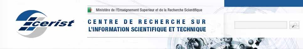 CERIST - Centre de recherche sur l'information scientifique et technique