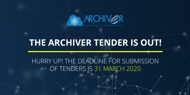 The countdown is on for the ARCHIVER PCP tender