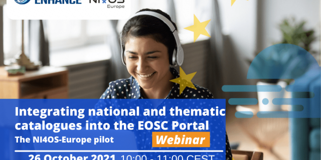 Webinar - Integrating national and thematic catalogues into the EOSC Portal