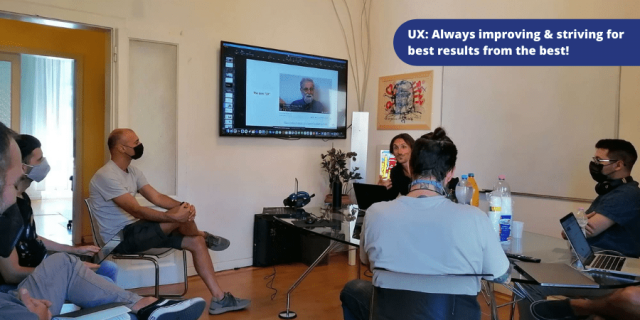 UX: Always improving & striving for best results from the best!