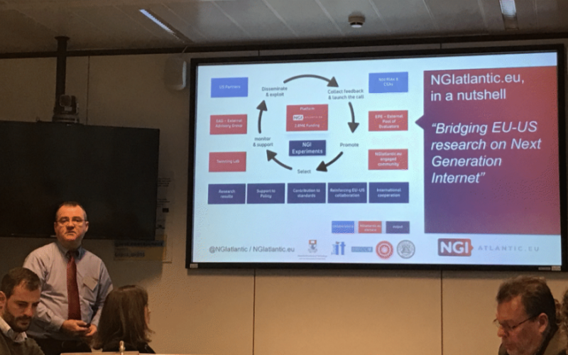 NGIatlantic.eu - Bridging EU-US research on Next Generation Internet