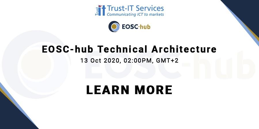 Eosc Hub Technical Architecture Trust Itservices
